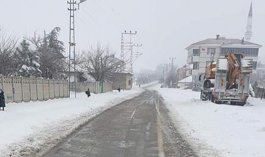 Akçakent'te Kar Etkisini Gösterdi!